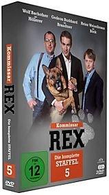 Kommissar Rex - Staffel 5 - 3DVD NEU