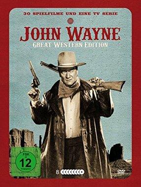 John Wayne - Great Western Edition 8DVD